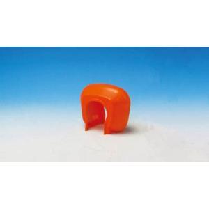 (株)ミツギロン ミツギロン エバークランプ(オレンジ)110×54×90 EVA-CP-O 1個【485-1277】|ganbariya-shop