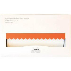 トラスコ中山(株) TRUSCO 不織布ロールウエス 230mmX50m ポップアップボックス TFW-50P 1箱(1箱入)【489-2500】|ganbariya-shop