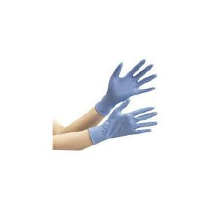 ミドリ安全(株) ミドリ安全 ニトリル使捨て手袋ベルテキマックスセブンスセンス粉無100枚 VERTE-737-SS 1箱(100枚入)|ganbariya-shop