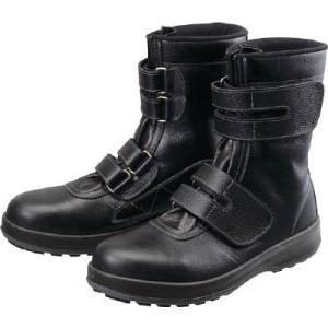(株)シモン  シモン 安全靴 長編上靴 マジック WS38黒 26.0cm WS38-26.0  1足【491-4961】