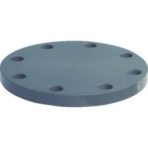 積水化学工業(株) エスロン 板フランジSB型 65 JIS10K PVC FSB65 1枚【494-9439】 ganbariya-shop