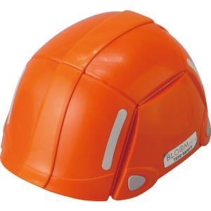 (株)トーヨーセフテイー トーヨーセフティ 防災用折りたたみヘルメット BLOOM オレンジ NO100-OR 1個【495-8951】|ganbariya-shop