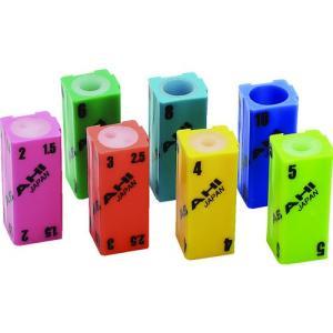 旭金属工業(株) ASH 六角棒レンチ用連結ホルダーセット 7個組 AIS0710 1S(7個)【497-4972】|ganbariya-shop