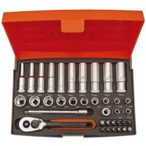 スナップオン・ツールズ(株) バーコ 1/4ソケットセット SL25L 1S【498-2002】|ganbariya-shop