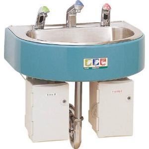 【特長】●センサー感知で、石けん液・給水・消毒剤を自動供給するので、手を触れずに洗浄・消毒が可能です...