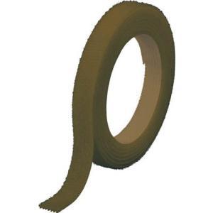 トラスコ中山(株) TRUSCO マジックバンド]結束テープ両面幅10mmX長さ10mOD MKT-10100-OD 1巻【754-1961】|ganbariya-shop