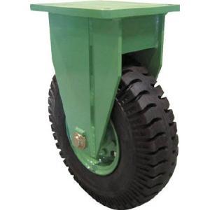 佐野車輌 超重量級キャスター シングル固定車 荷重1500kgタイプ 1個【代引不可商品】【別途運賃必要なためご連絡いたします。】|ganbariya-shop