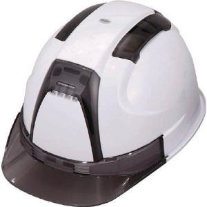 (株)トーヨーセフテイー トーヨーセフティ TOYO 通気孔付きヘルメット(白) NO.390F-OTSS-W 1個【758-3532】|ganbariya-shop