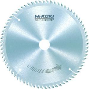 工機ホールディングス(株) HiKOKI チップソー(造作用) 165mmX20 72枚刃 0031-4314 1枚【767-5747】|ganbariya-shop