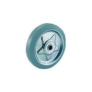 トラスコ中山(株) TRUSCO グレーゴム車輪 Φ200 TW-200G 1個【772-9847】