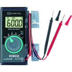 共立電気計器(株) KYORITSU デジタルマルチメータ(ハードケース) KEW1019R 1個【777-7795】|ganbariya-shop
