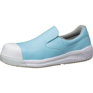 ミドリ安全(株) ミドリ安全 超耐滑先芯入り作業靴 HS−600CAP ブルー 23.5cm HS-600CAP-BL 23.5 1足