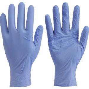 トラスコ中山(株) TRUSCO ニトリル製使い捨て極薄手袋 粉無し 200枚入 M バイオレット TGL-442-M 1箱【819-1765】|ganbariya-shop