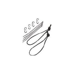 TEAM WENDY社 TEAMWENDY RAIL 2.0 ショックコードキット ブラック 70-SCK-BK 1組【820-2699】|ganbariya-shop