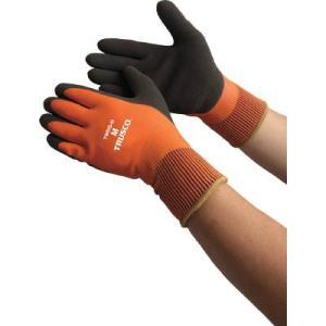 トラスコ中山(株) TRUSCO 防寒天然ゴム手袋 Mサイズ TWBG-M 1双【824-6659】|ganbariya-shop