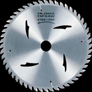 (株)TJMデザイン タジマ チップソー木工用 165mm MT165TC 1個【828-8312】|ganbariya-shop
