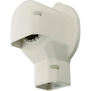 パナソニック(株) Panasonic 壁面取出しカバーPタイプ 排じん&換気機能付きエアコン用 アイボリー DAS2804W 1個 ganbariya-shop