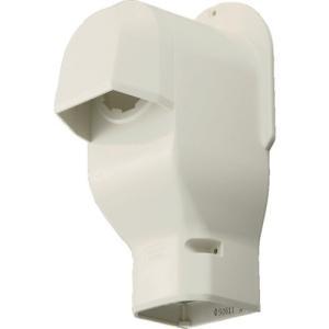 パナソニック(株) Panasonic 壁面取出しカバー 排じん&換気機能付きエアコン用 ホワイト DAS2805S 1個【828-9411】 ganbariya-shop