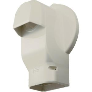 パナソニック(株) Panasonic 壁面取出しカバーPタイプラージ 排じん&換気機能付エアコン用 DAS2806W 1個 ganbariya-shop