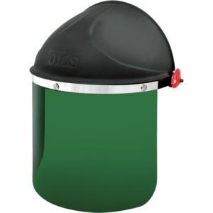 OTOS社 OTOS かぶり型防災面 グリーン#5 赤外線保護 F65BI5 1個【834-5509】|ganbariya-shop
