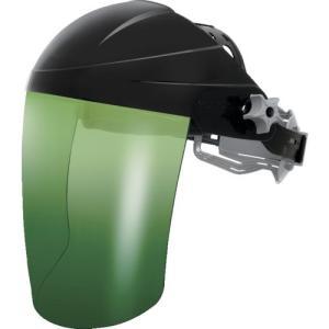 OTOS社 OTOS かぶり型防災面 グリーン#3 赤外線保護 ジョグダイヤル調節機能 F72BI3 1個【834-5515】|ganbariya-shop