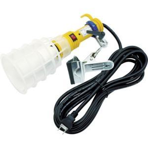 日動工業(株) 日動 ハンドランプ LEDクリップランプ 100V12W 2芯 5m HCLL125 1台【835-7692】|ganbariya-shop