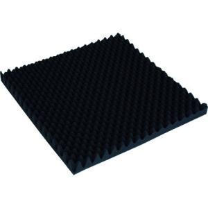 トラスコ中山(株) TRUSCO 波状加工ウレタンスポンジシート ソフト 40厚 500X500mm TKWS4050 1枚|ganbariya-shop