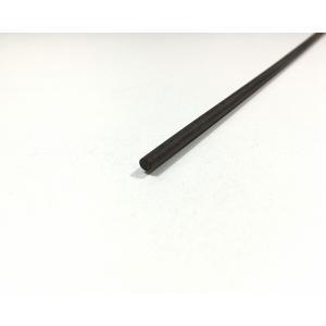 【DIY・クラフト用木材】縞黒檀(しまこくたん) 丸棒 約6パイx約300mm 10本入 1パック【サイズ・色等の商品選択は不可】|ganbariya-shop
