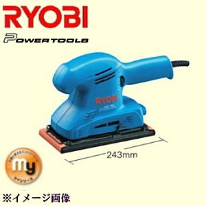 RYOBI(リョービ) 扱いやすい入門機 マイシリーズ MS-30 サンダ 636412A 1個【ryobi636412a】|ganbariya-shop
