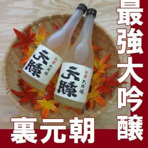 お歳暮 御歳暮 ギフト 2018 秘蔵大吟醸 裏元朝 720ml |gancho