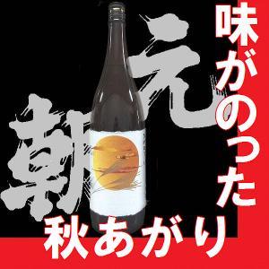 季節限定品 ひやおろし純米吟醸 元朝 1.8l (大阪府産地酒)|gancho