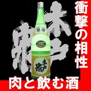 純米酒 木戸泉 醍醐1.8l 6本以上で送料無料【N】【AK】|gancho