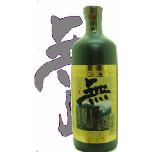 ■蔵元直送■むぎ焼酎  無月 原酒 720ml 瓶(瓶は陶器で出来ているので、お召し上がり後は焼酎サーバーにどうぞ!)|gancho