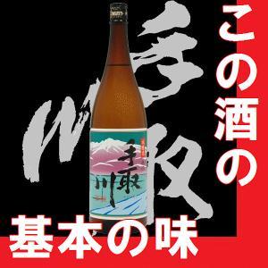 日本酒  手取川 1.8l 瓶 本流本醸造(石川県産地酒)|gancho