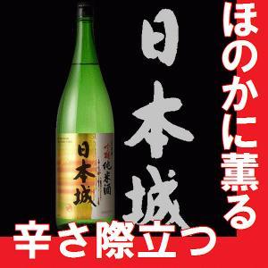 日本酒 吉村秀雄商店  日本城 吟醸純米 720ml 瓶 (和歌山県産地酒)|gancho