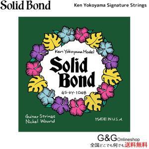 横山健 シグネチャー モデル Guitar Strings 010-048 エレキギター弦 GS-KY-1048|gandgmusichotline