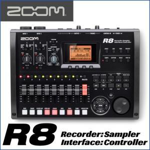 ZOOM/ズーム R8  ポータブル音楽制作システム|gandgmusichotline