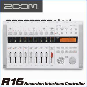 ZOOM/ズーム R16  Recorder : Interface : Controller  レコーダー/インターフェース/コントローラー|gandgmusichotline