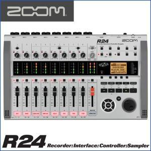 ZOOM/ズーム R24  Recorder : Interface : Controller  レコーダー/インターフェース/コントローラー|gandgmusichotline
