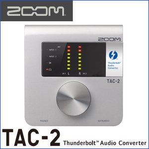 ZOOM/ズーム TAC-2 2-Channel Thunderbolt Audio Converter|gandgmusichotline