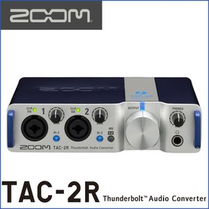 ZOOM/ズーム TAC-2R 2-Channel Thunderbolt Audio Converter|gandgmusichotline