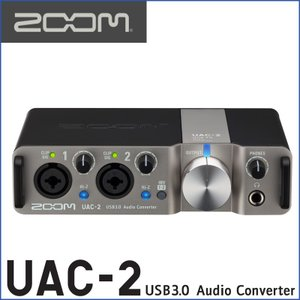 ZOOM/ズーム UAC-2 2-Channel USB3.0 Audio Converter for Mac and PC|gandgmusichotline