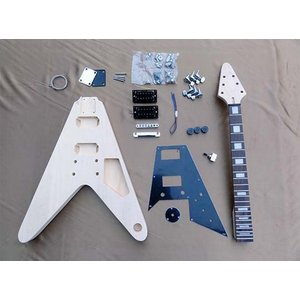 HOSCO エレキギターキット FV(フライングV)タイプ ER-KIT-FV ※ラッピング承ります※|gandgmusichotline