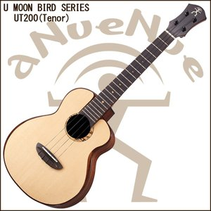 aNueNue aNN-UT200  Tenor Ukulele Moon Bird Ukulele / アヌエヌエ ムーンスプルース単板+ローズウッド単板モデル バードウクレレ テナーウクレレ|gandgmusichotline