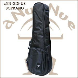 aNueNue aNN-GIG US/SOP オリジナルケース SOPRANO UKULELE / アヌエヌエ ソプラノウクレレ用純正ケース|gandgmusichotline
