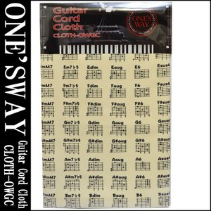 ONE'S WAY  ワンズウェイ GUITAR CODE CLOTH CLOTH-OWGC CRM...