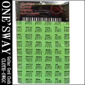 ONE'S WAY  ワンズウェイ GUITAR CODE CLOTH CLOTH-OWGC GRN...
