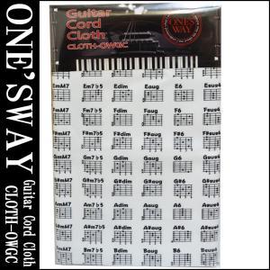 ONE'S WAY  ワンズウェイ GUITAR CODE CLOTH CLOTH-OWGC WHT...