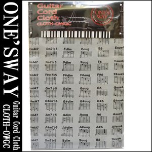 ONE'S WAY  ワンズウェイ GUITAR CODE CLOTH CLOTH-OWGC GRY...