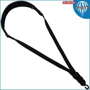 Neotech Wick-it Sax Strap X-Long Open (オープンフック) Black #8401032 / ネオテック サックス・サクソフォン用ストラップ|gandgmusichotline